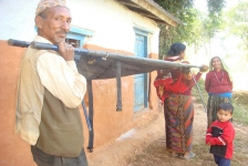 Simple Stretchers Breathe Life into Rural Nepal