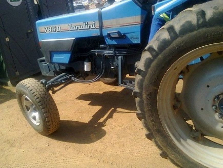Agricultural Tractor Based Solutions For Rural Access And Development